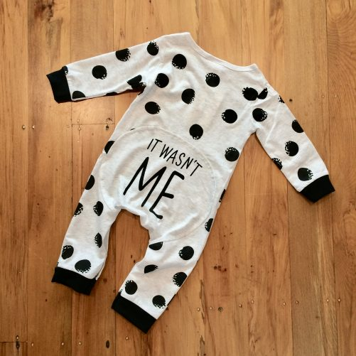 It Wasn't Me Onesie