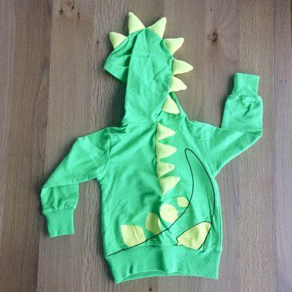 Green and Yellow Dinosaur hoodie