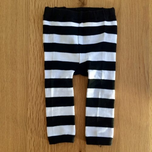 Striped Penguin Leggings