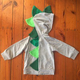 Grey Dino Hoodie