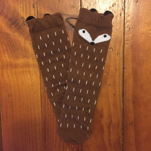 Brown Fox Sock
