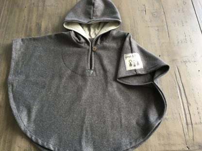 Hooded Baby Poncho