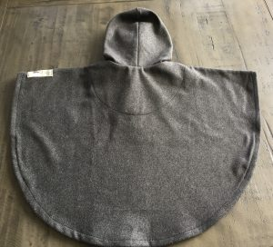 Stone Grey Poncho