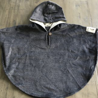 Steel Grey Poncho